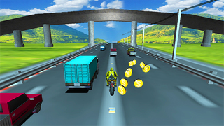 Highway Sports Bike screenshot 1