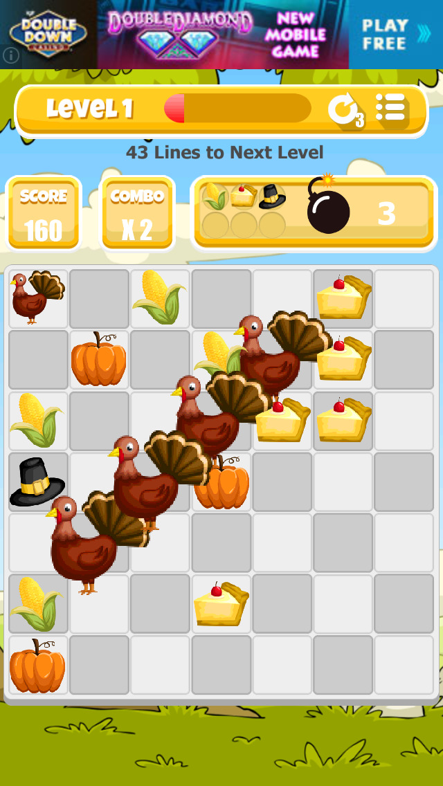 A Thanksgiving Match Game screenshot 2