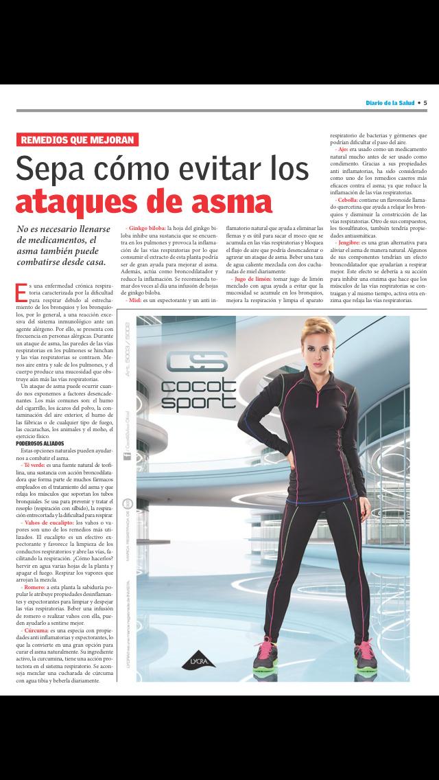 Diario de la Salud screenshot 3