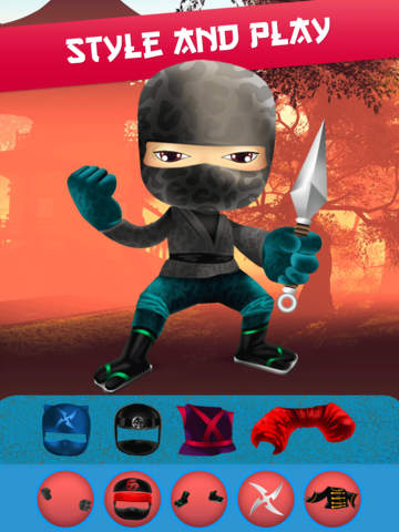 My Epic Ninja Superheroes World Fighter Club Game screenshot 10