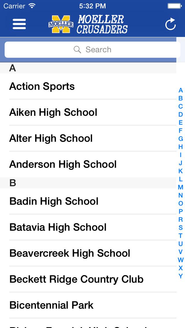 Moeller High School Sports screenshot 3
