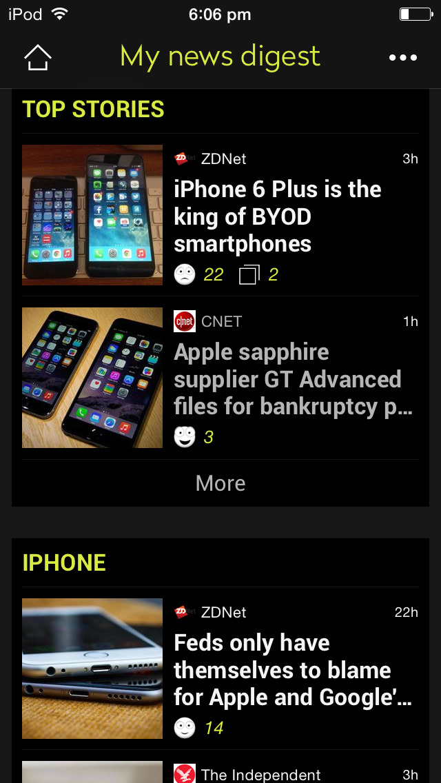 Appy Geek – tech news screenshot 2