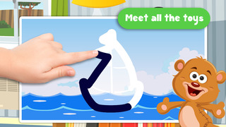 Kids Toys Puzzle Teach me Tracing and Counting - Learn about teddy bears and dolls for boys and girls screenshot 2