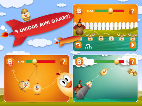 Fun to Fly to the top with this epic game so be cool and tap the most chicken eggs for free! screenshot 6