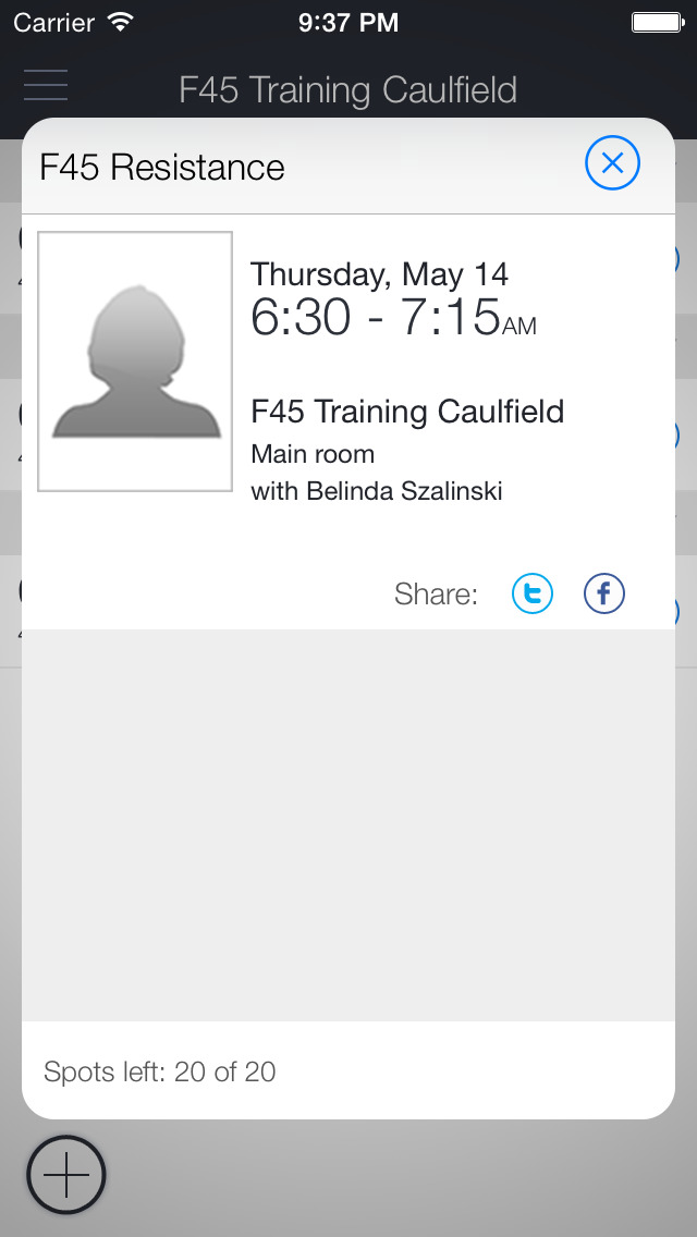 F45 Training Bentleigh screenshot 2