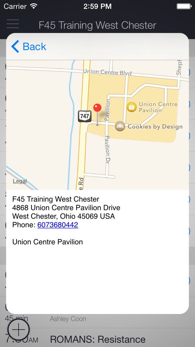 F45 Training West Chester screenshot 3