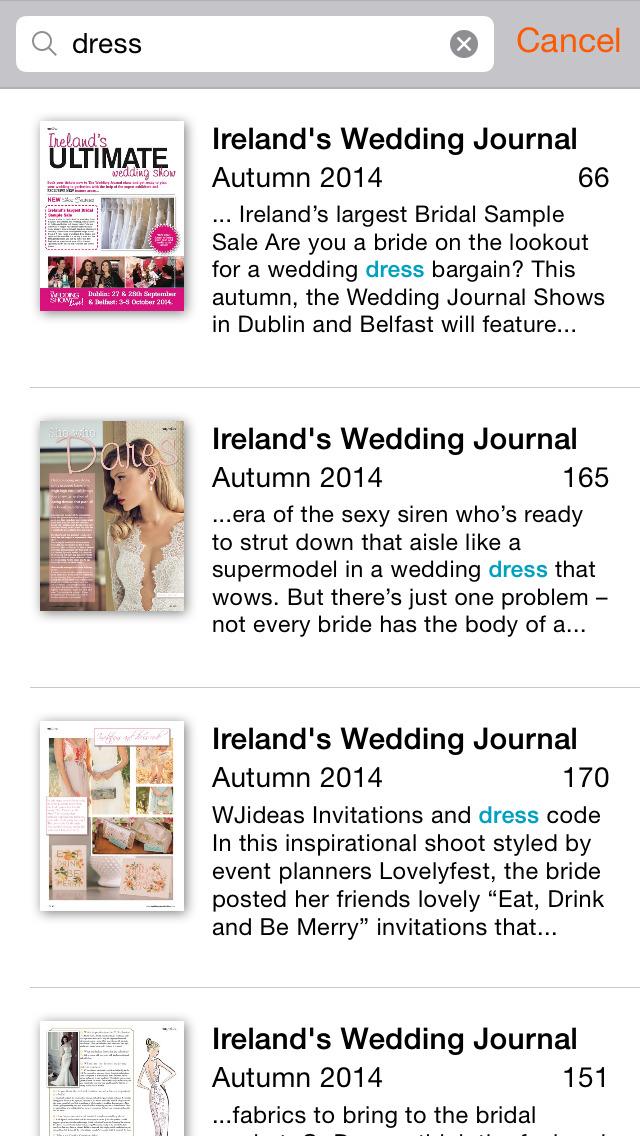 Ireland's Wedding Journal screenshot 4