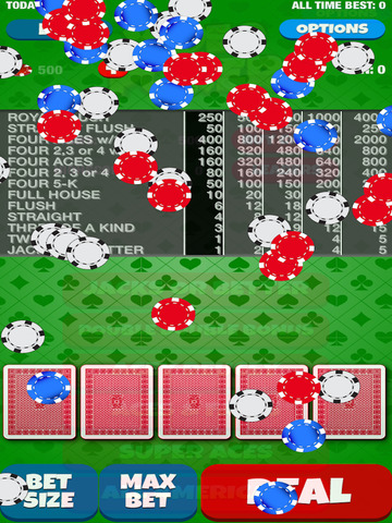 A Video Poker Casino Game screenshot 6