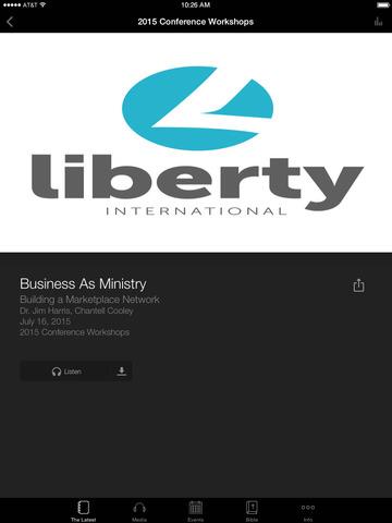 Liberty Network International screenshot 6