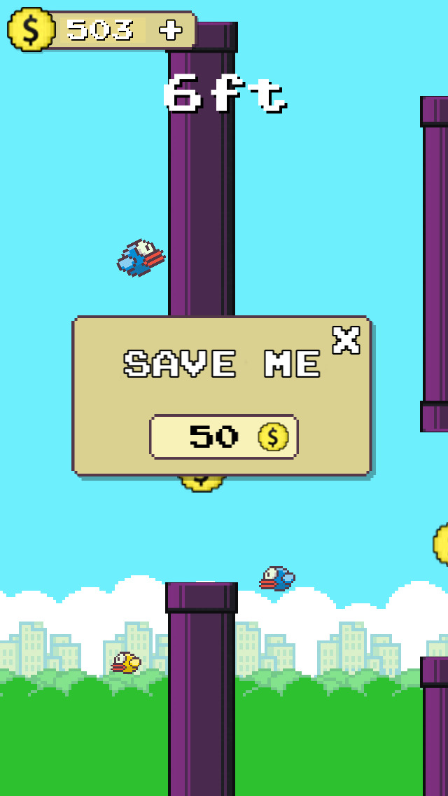 Flappy Hero Fly High screenshot 4