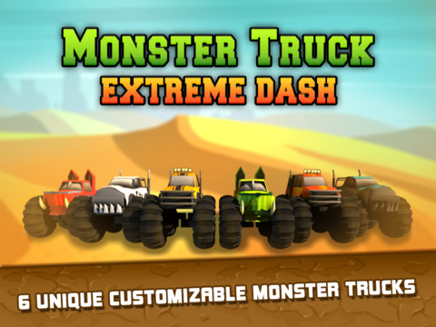 Monster Truck Extreme Dash screenshot 6