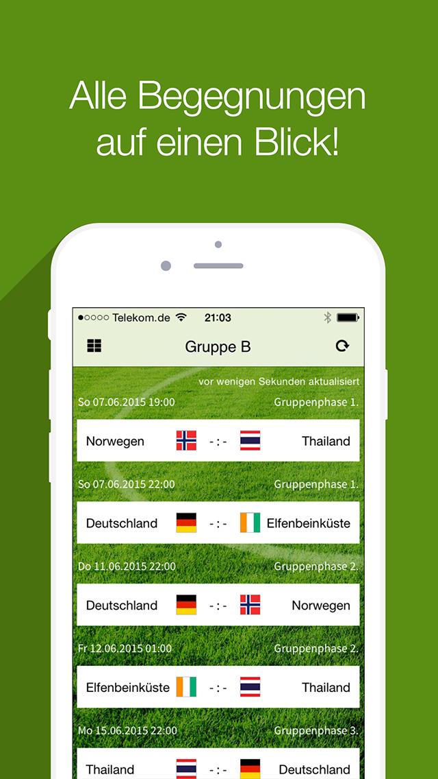 Frauen Fußball Bundesliga screenshot 2