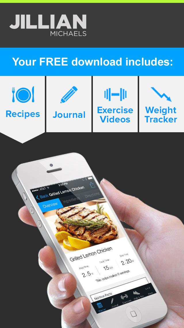 Jillian Michaels Slim-Down: Weight Loss, Diet, Fitness, Workout & Exercise Solution screenshot 2