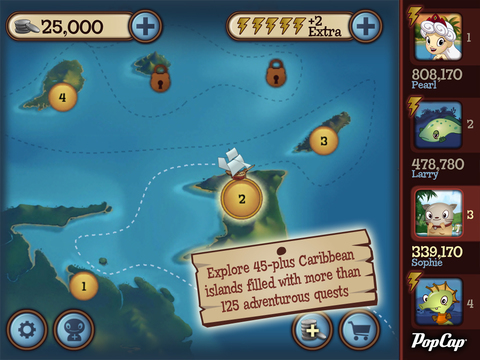 Solitaire Blitz™: Lost Treasures screenshot 9