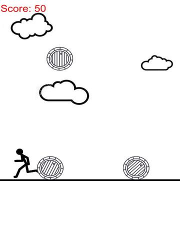 A Stickman On Paper - Raindrop Of Barrel Free screenshot 5