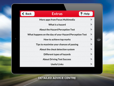 Hazard Perception Test Free HD screenshot #4