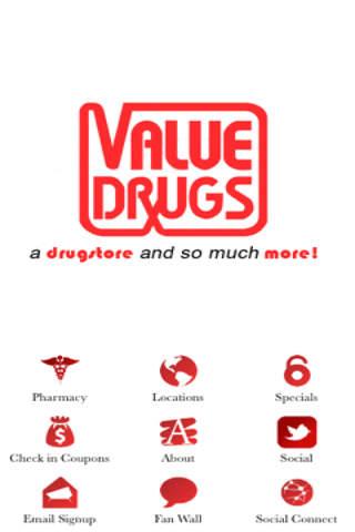 Value Drugs - náhled