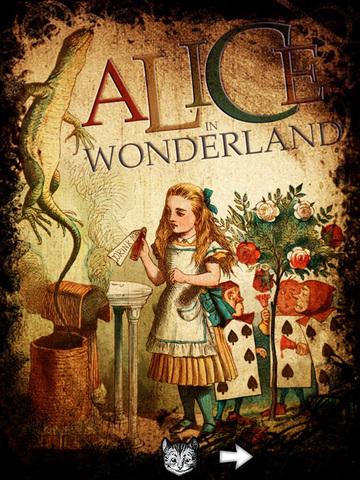 Alice for the iPad screenshot 1