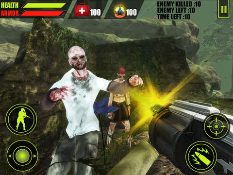 Forest Zombie Hunting 3D screenshot 9