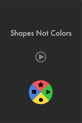 Shapes Not Colors - náhled