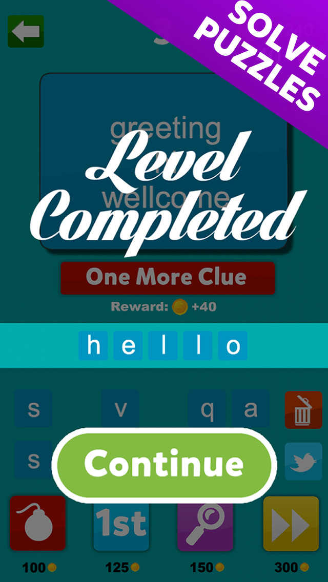 4 Clues - Find The Word Based On 4 Hints screenshot 5