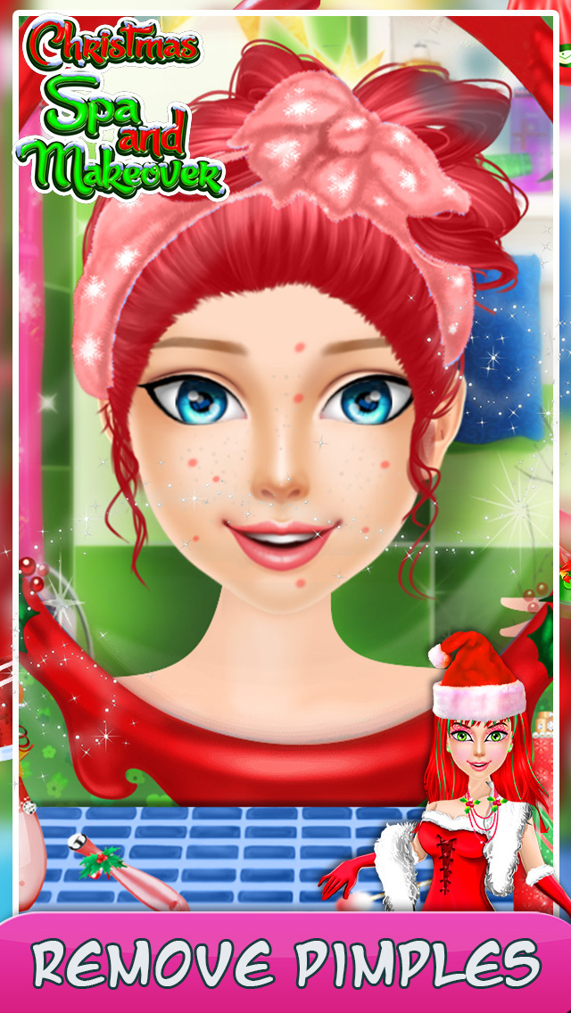 Christmas Spa And Makeover screenshot 3