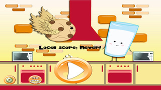Super Cookie and Milk - Classic Home of Sweet Doodle Mama Dash Crunch Free 2 screenshot 1