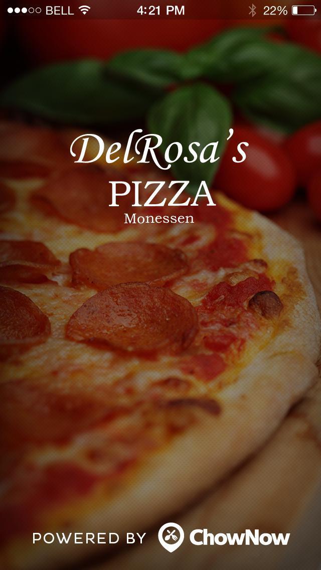 DelRosa's Pizza screenshot 1