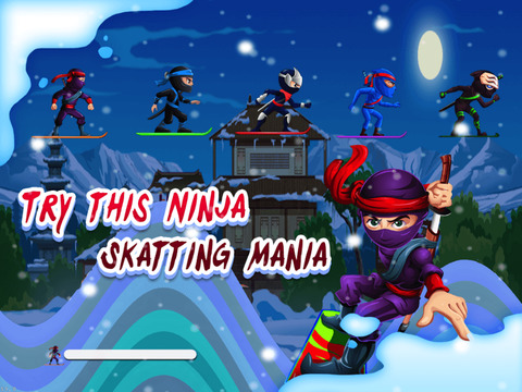 Ninjas Race screenshot 5