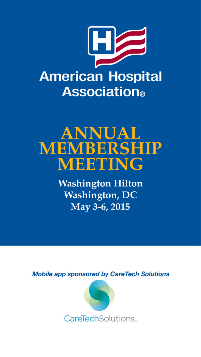 AHA Annual Meeting 2016 screenshot 1