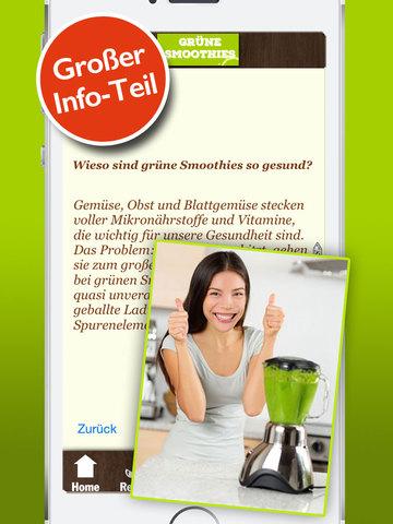 Grüne Smoothies Rezepte - Lecker und gesund screenshot 8