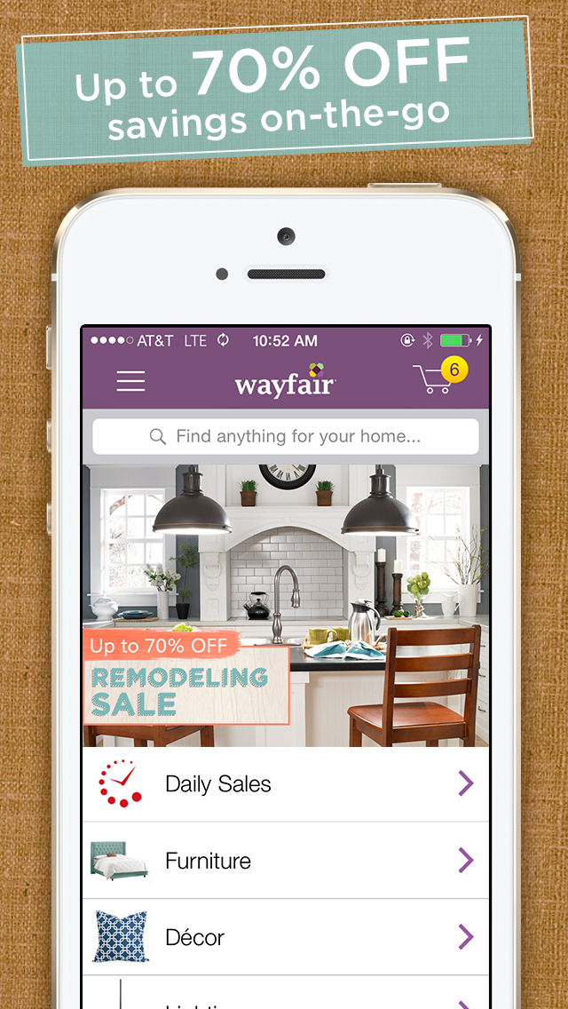 Wayfair – Shop All Things Home screenshot 1