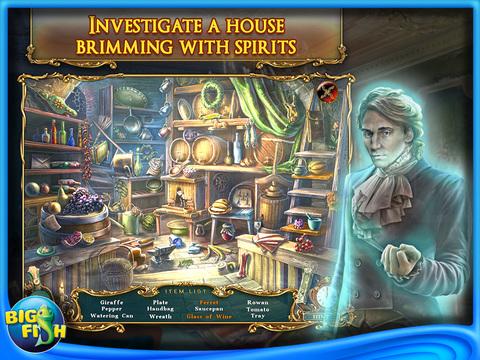 Haunted Legends: The Curse of Vox HD - A Hidden Objects Adventure screenshot 3