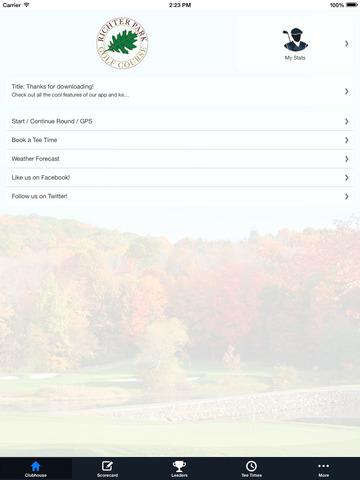 Richter Park Golf Course screenshot 7