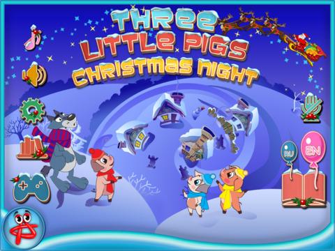 Christmas Night: Three Little Pigs Free Adventure screenshot 6