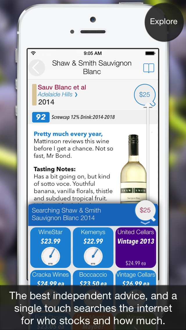 Wineosphere Wine Reviews for Australia & NZ screenshot 3