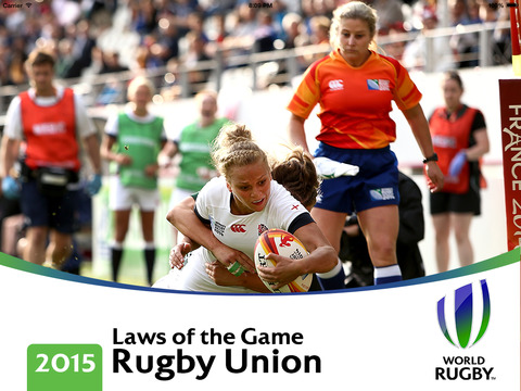 World Rugby Laws of Rugby 2016 screenshot 1