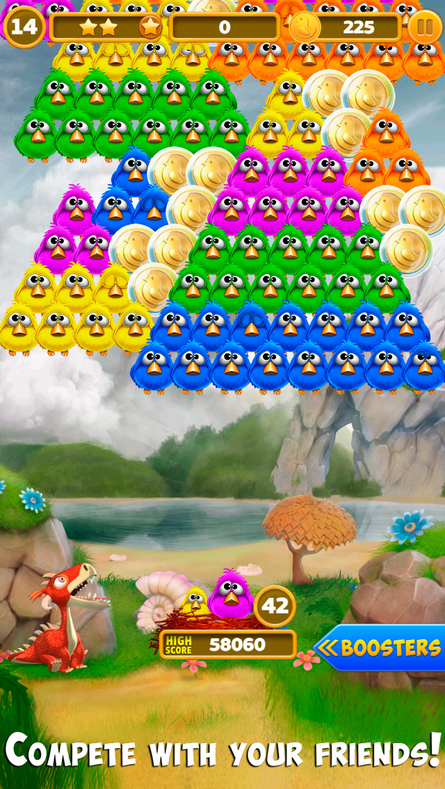 Bubble Birds 4: Match 3 Puzzle Shooter Game screenshot 4