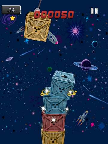 A1 Space Frontier Crane Stacker Game Pro Full Version screenshot 10