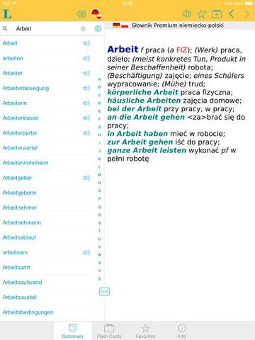 Słownik Premium polsko <-> niemiecki screenshot 6
