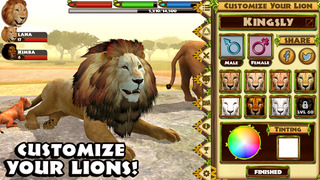 Ultimate Lion Simulator screenshot 5