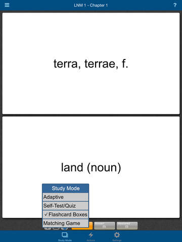 Latin for the New Millennium Level 1 Vocabulary Flashcards screenshot 8