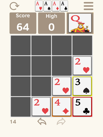 2048 & Solitaire screenshot 4