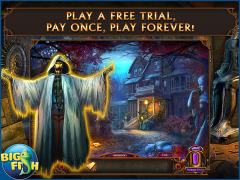 Haunted Hotel: Ancient Bane HD - A Ghostly Hidden Object Game screenshot 1
