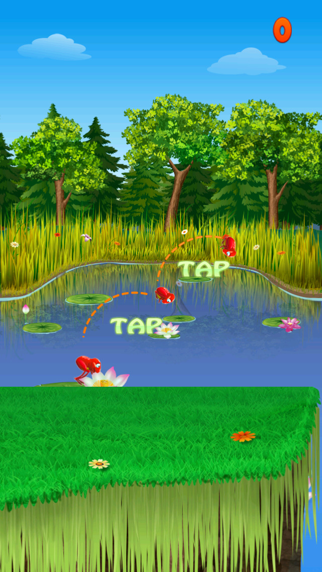 Frog Amazing Run & Jump Game screenshot 2