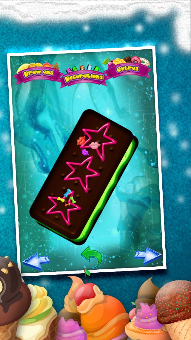 A+ Cone & Sundae Creator Ice-Cream Sandwich Maker Game screenshot 3