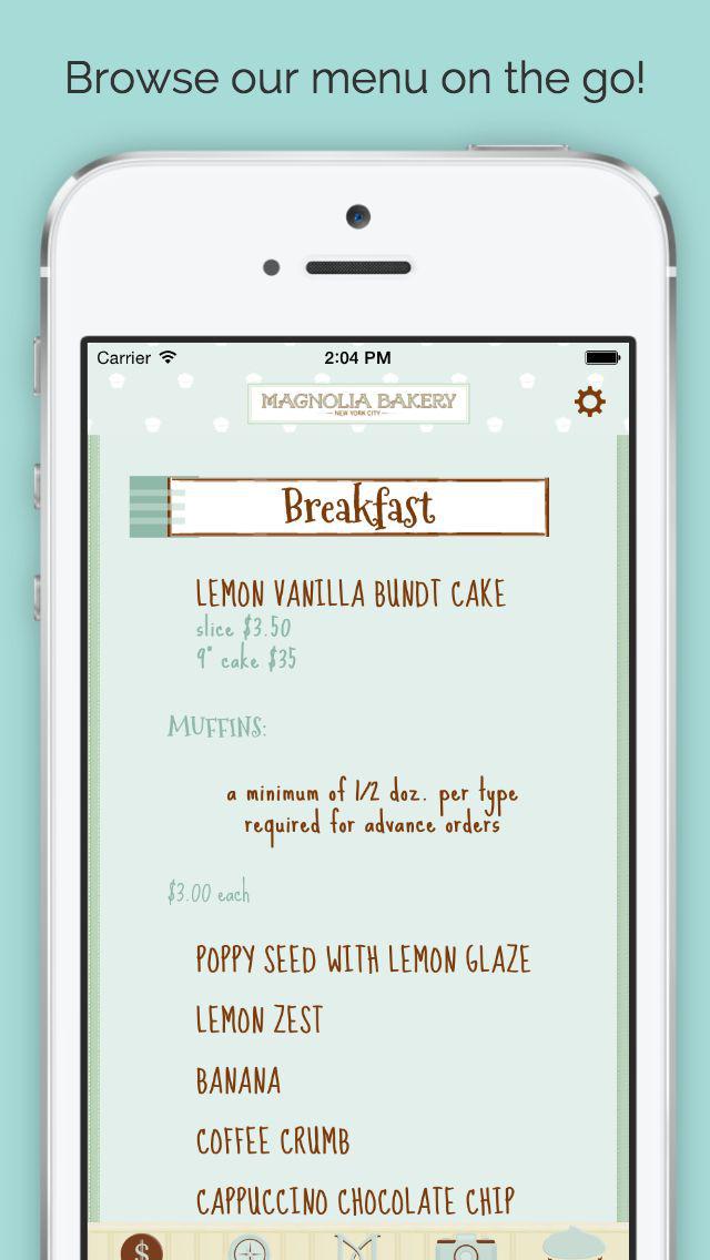 Magnolia Bakery screenshot 4