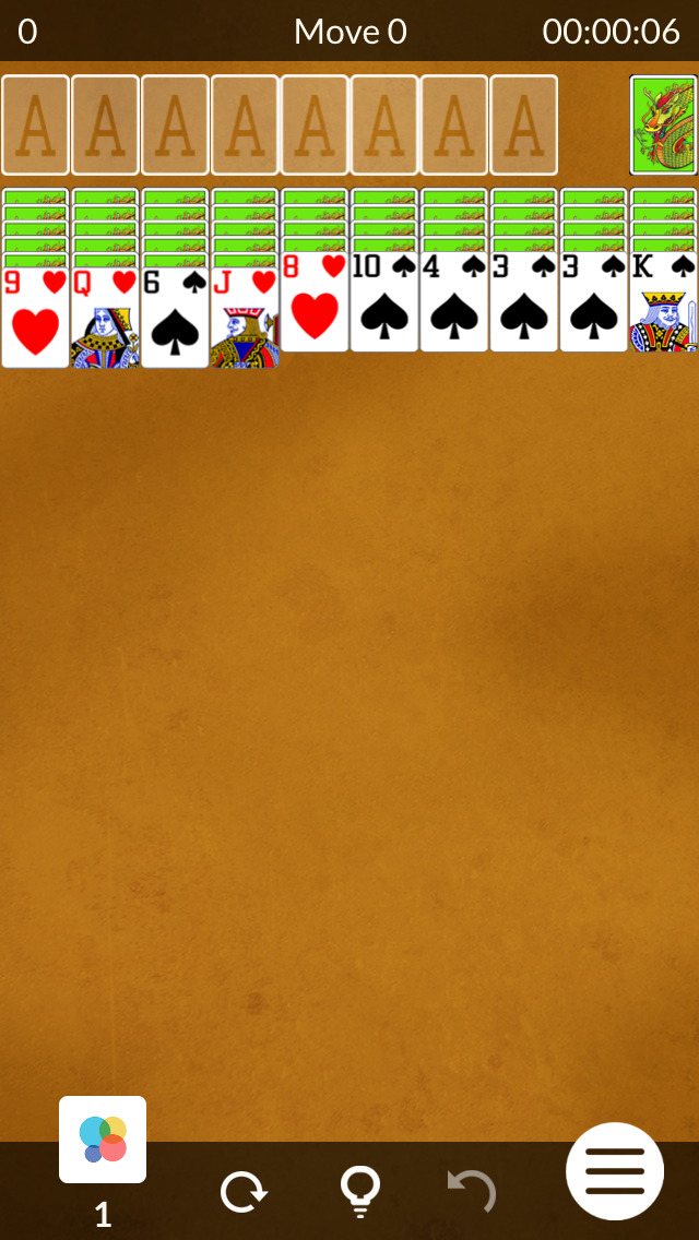 Spider Solitaire ◈ screenshot 2