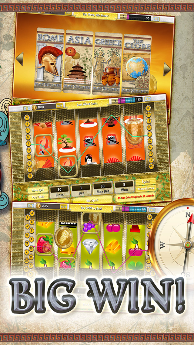 Slots of Egypt vs Rome Pharaohs Roman Warriors Casino  ( Free Lucky Casino Game 777 ) screenshot 1