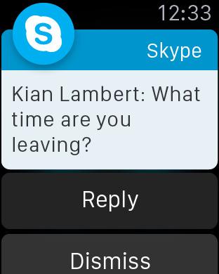 Skype for iPhone screenshot 6